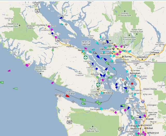Live Ships Map View