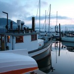 Morning Cowichan Bay Village