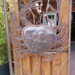 Metal Gates Guard Front Door